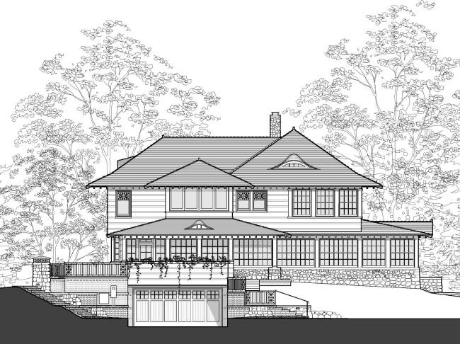 elevation - garage