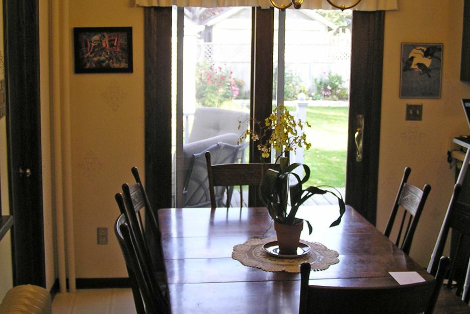 Cass Gilbert Shingle-Style Breakfast Room BEFORE