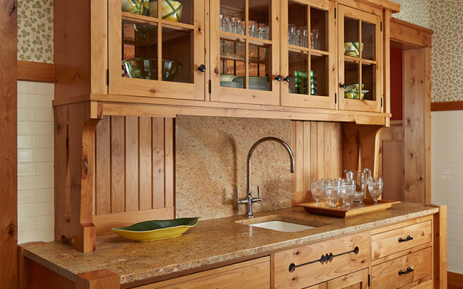 Tomahawk Lake House Kitchen
