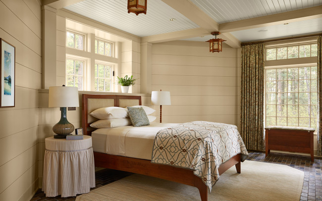 Tomahawk Lake House Master Bedroom