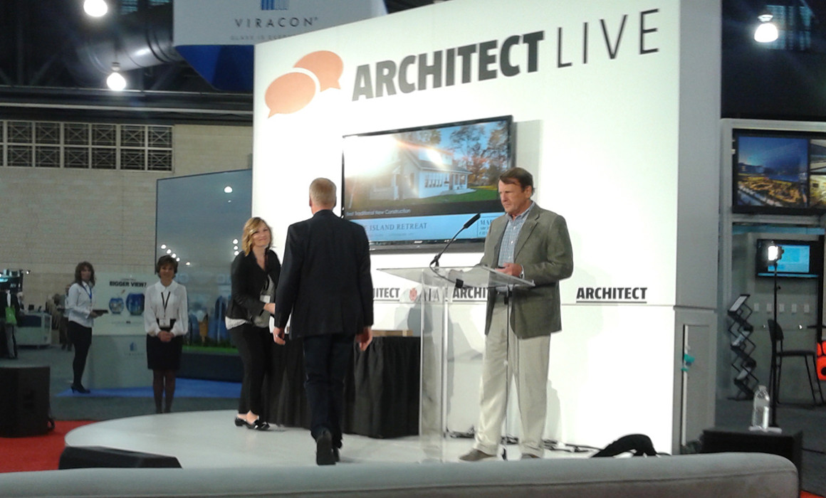 Marvin Architects Challenge ceremony