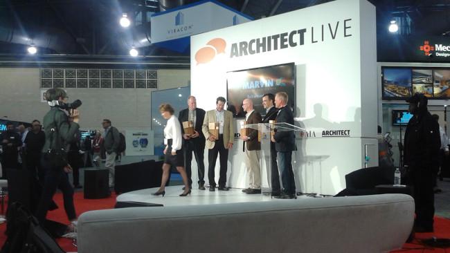 Marvin Architects Challenge ceremony