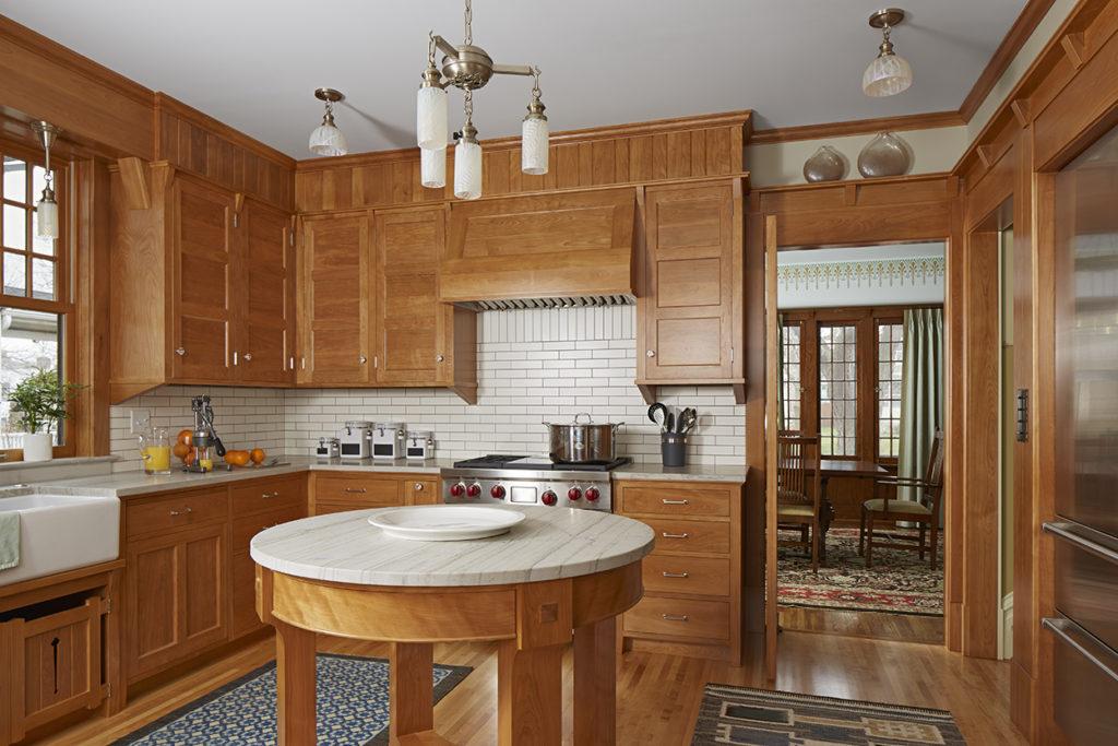 Franklin Ellerbe Tudor Kitchen