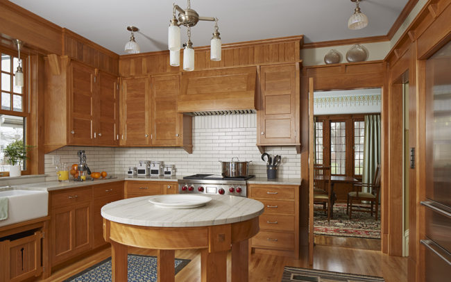 Franklin Ellerbe Tudor Kitchen