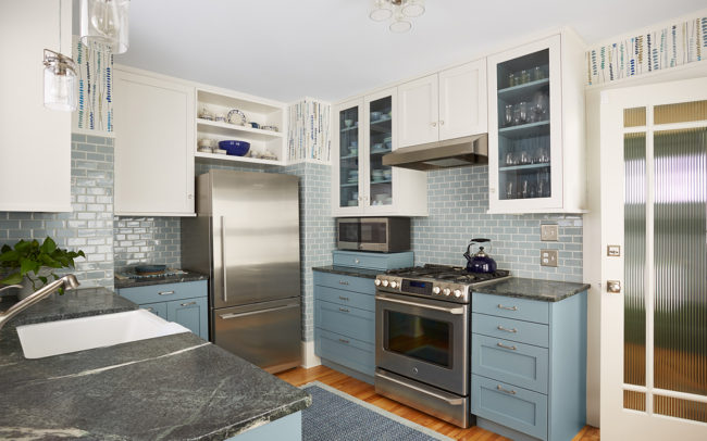 Macalester-Groveland Duplex Lower Kitchen