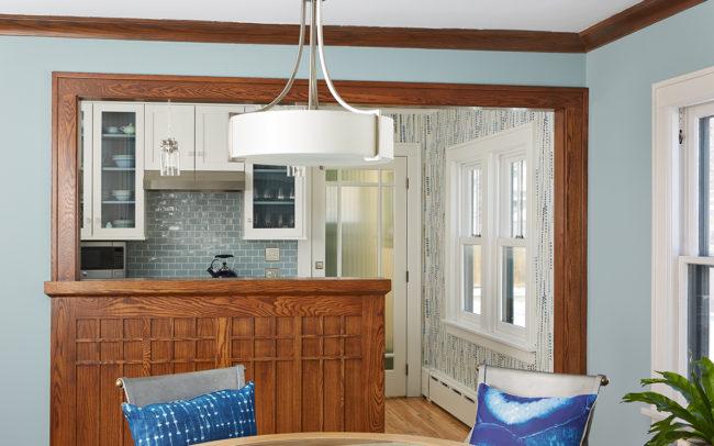 Macalester-Groveland Duplex Lower Kitchen
