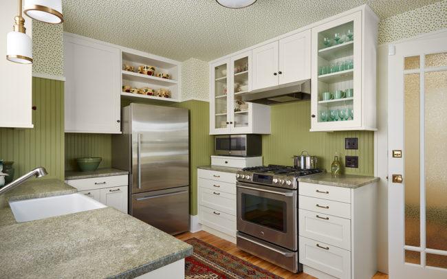 Macalester-Groveland Duplex Upper Kitchen