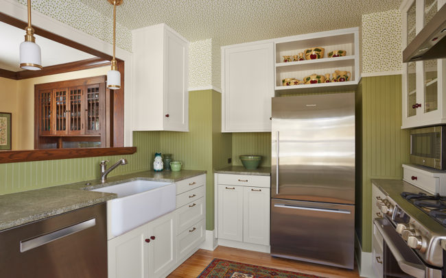 Macalester-Groveland Duplex Upper Kitchen