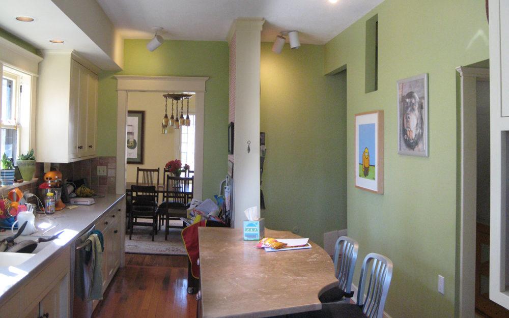 Franklin Ellerbe Tudor Kitchen - Before