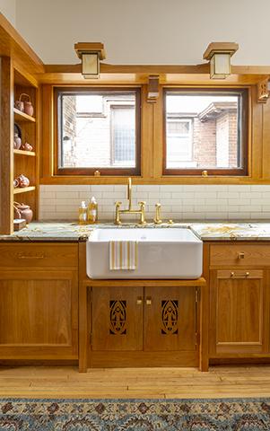 Historic Minneapolis EL Powers House Kitchen