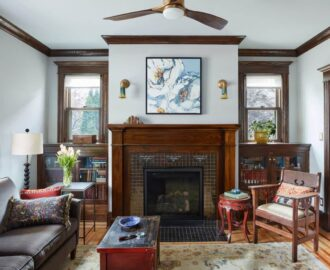 Fillmore Street Cottage - Living Room - After
